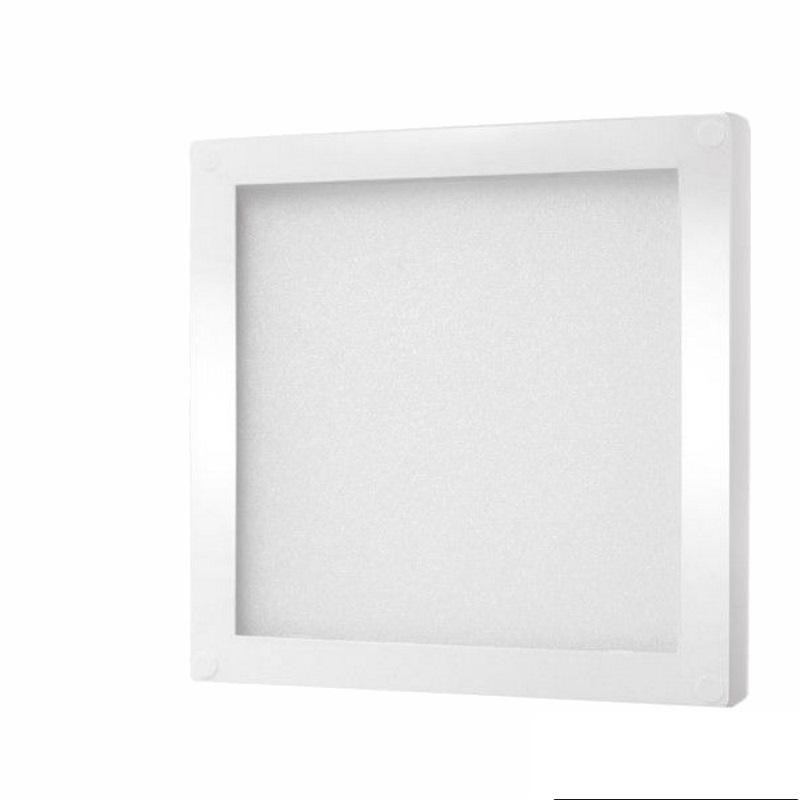 LED AUFBAU Möbel-/Unterbauleuchte FOTON -weiß- kalt-weiß (6000k) 12V/3W