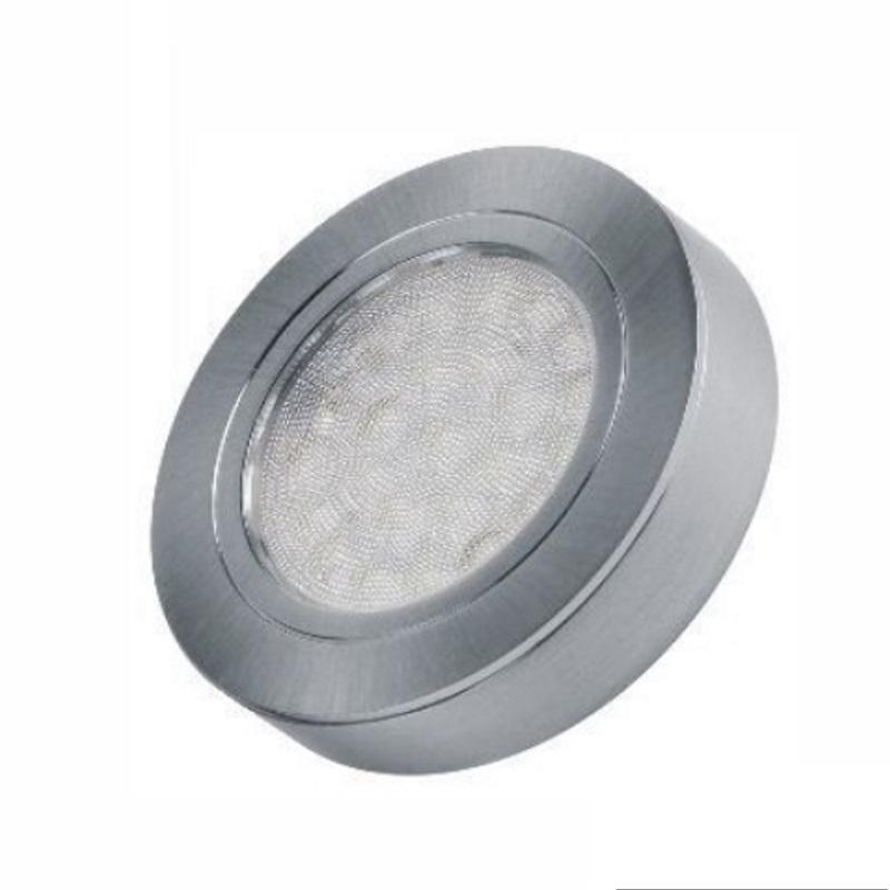 Anleitung Zum Aufbau Einer Indirekten Beleuchtung Mit Leds: 1-6 LED Aufbau-Möbelleuchte OVAL + LED Trafo