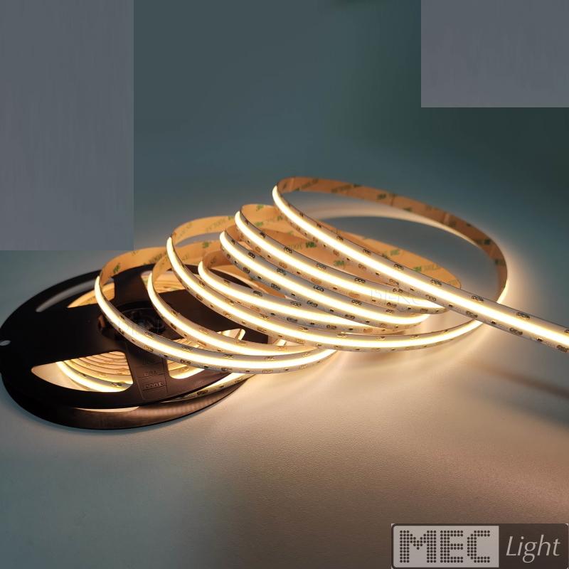1m LED Streifen / Stripe 504x COB-Leds/m 1320Lm 24V 12W - warm-weiß (3000K) IP20