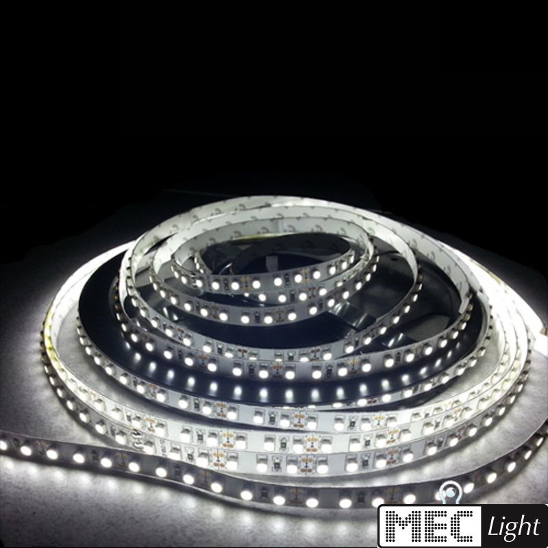 4,5€//m 60x 1-Chip-SMDs//m 12V IP63 0,50m-5m flexibler LED Streifen warm-weiß