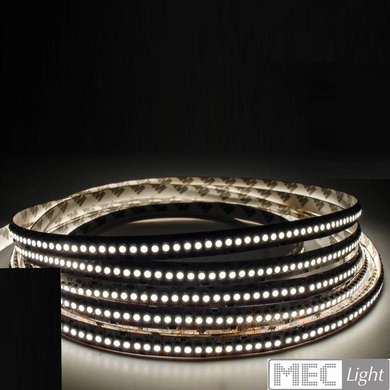 1m LED Streifen/Stripe 240x 3528/m 2200Lm 24V 15W Ra=90 - kalt-weiß (6000K) IP20