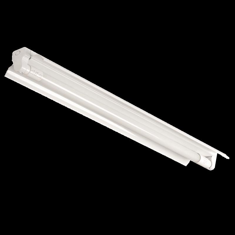150cm Balkenleuchte Halterung für T8 LED Röhre 1x 58W Kanlux ALDO 4LED 1x150R