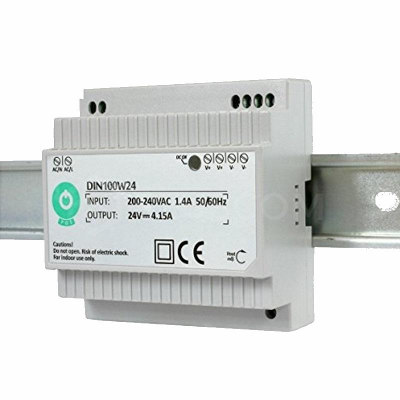 Hutschienen LED Trafo - SMD Netzteil 24V/DC - 100W - 4,15A (DIN100W24)