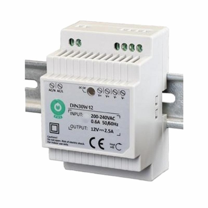 Hutschienen LED Trafo 12V/DC 30W 2,5A SMD Netzteil (DIN30W12) DIN-Rail Treiber