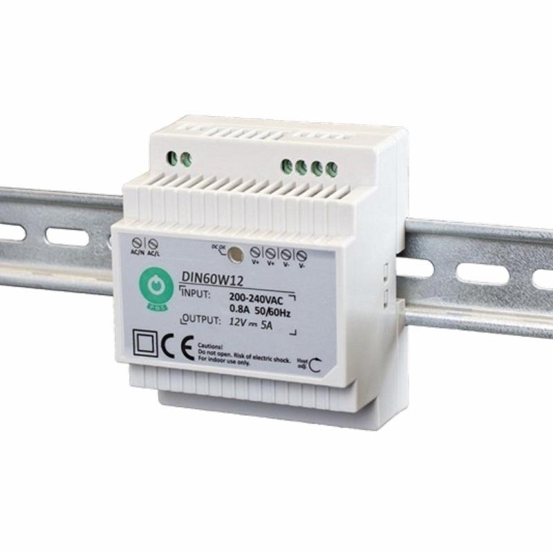 Hutschienen LED Trafo - SMD Netzteil 12V/DC - 60W - 5A (DIN60W12)