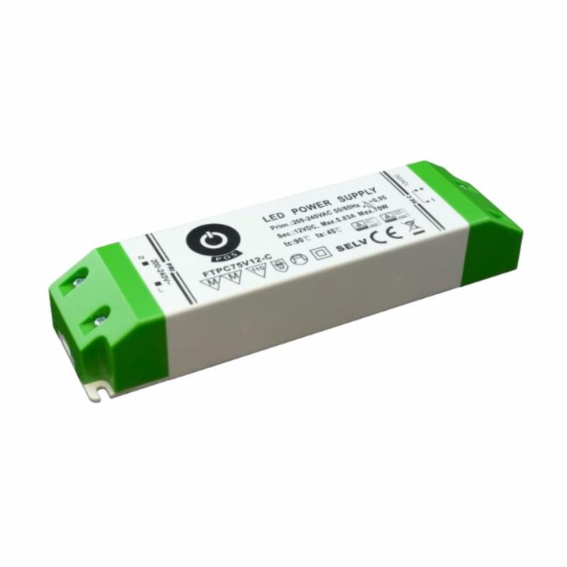 Slim Line LED Netzteil / Trafo mit PFC 24V/DC – 75W - 3,13A (FTPC75V24-C) MM