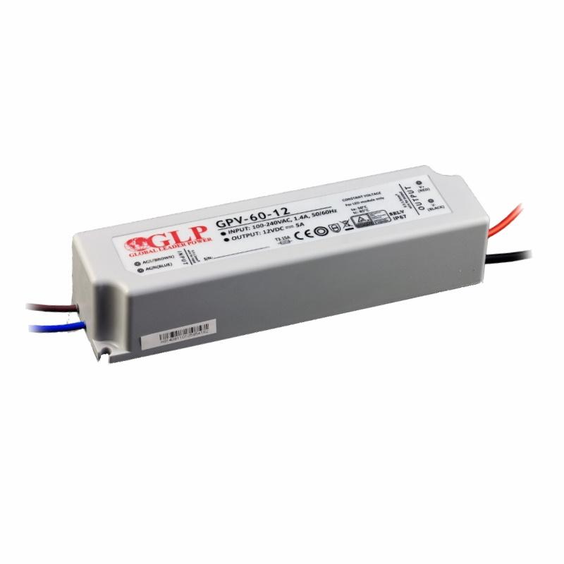 LED Trafo - Netzteil - 60W - 1,67A - 36V -wasserfest- GLP (GPV-60-36) IP67