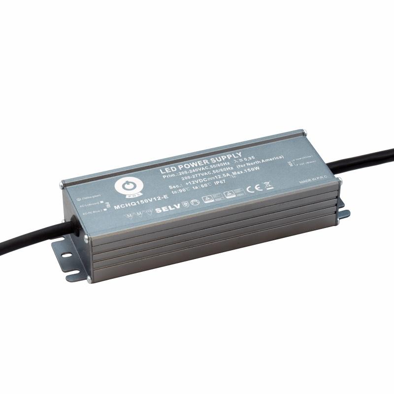 LED Trafo - Netzteil mit PFC 36V - 150W - 4,17A  -wasserfest- (MCHQ150V36) MM