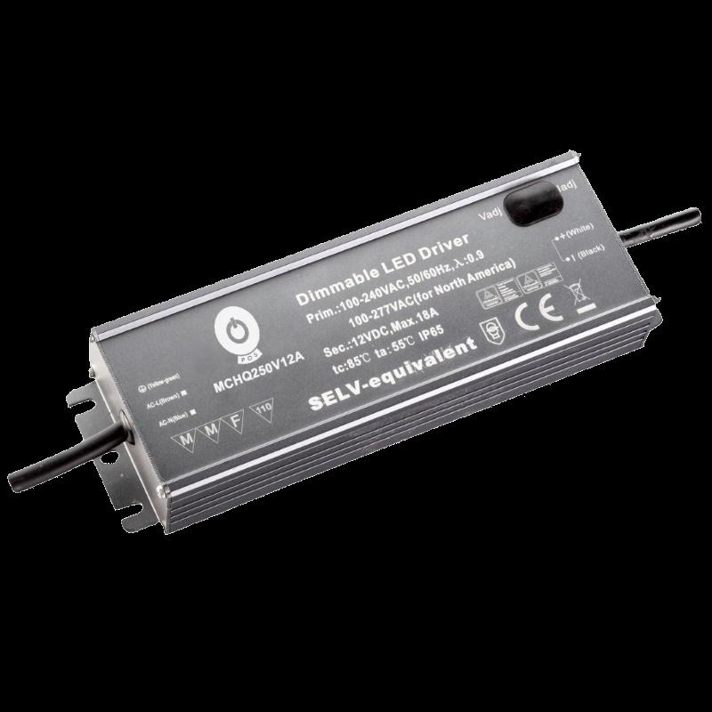 LED Trafo / Netzteil justierbar mit PFC 24V 320W 13,4A (MCHQ320V24A-SC) MM IP67