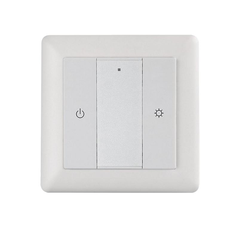 ZigBee 1-Kanal Wand-Controller Schalter / Dimmer (ML-ZG2018K2-DIM) LED Aufbau