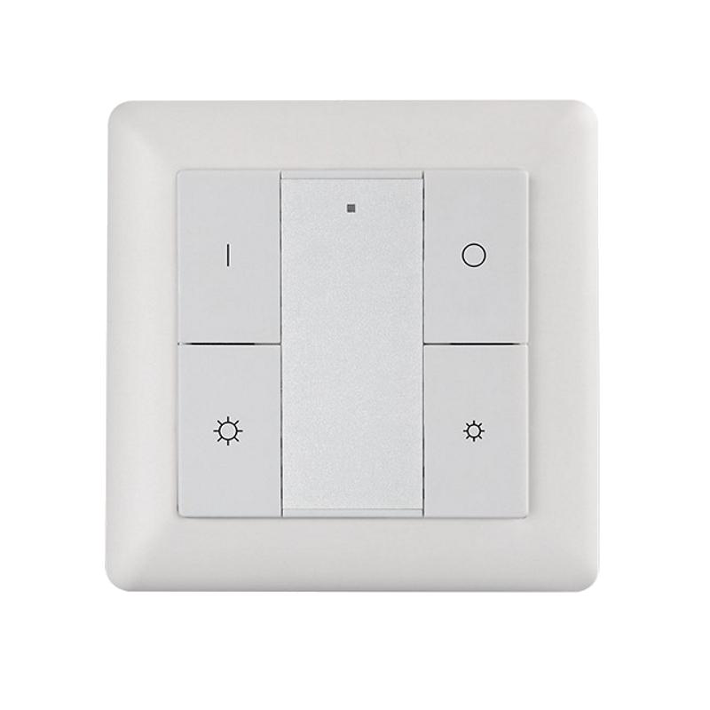 ZigBee 2-Kanal Wand-Controller Schalter / Dimmer (ML-ZG2018K4-DIM) LED Aufbau