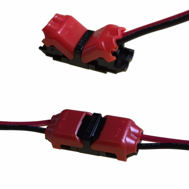 verbinder f r kabel 2 adrig 0 50mm leitung litze kabelverbinder muffe ebay. Black Bedroom Furniture Sets. Home Design Ideas