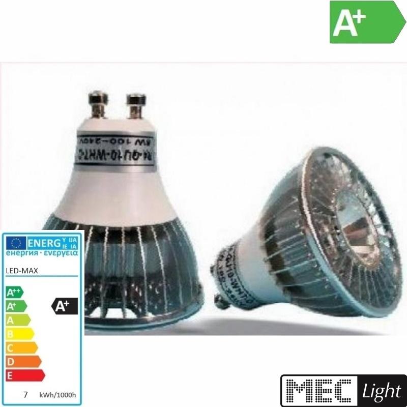 GU10 LED Spot R4S - 7W - 480Lm - 230V/AC - tageslicht-weiß