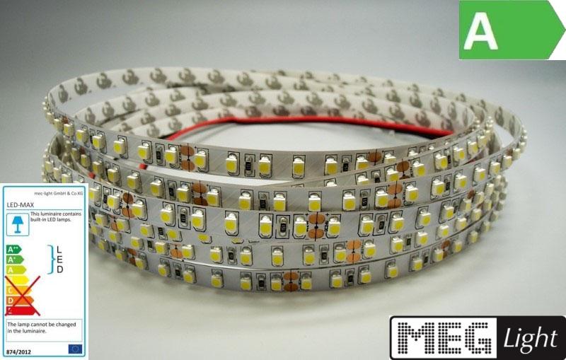 1m LED Streifen 120x SMD2835/m 1200Lm 24V 9,6W Ra=90 - warm-weiß (3000K) IP20