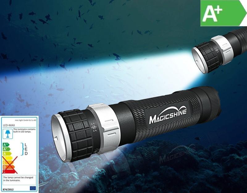 LED Taucherlampe - Taschenlampe Magicshine MJ-852 200lm CREE