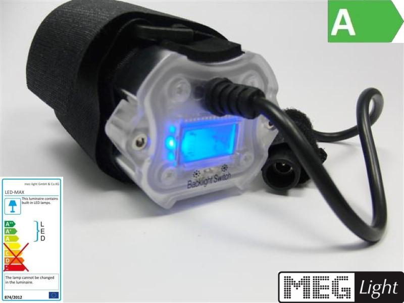 Magicshine Li ion Akku MJ 828 mit beleuchteten LED Display 4,4Ah
