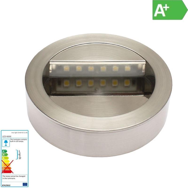 LED Wandleuchte / Treppenleuchte weiß 12V DC 0,5W