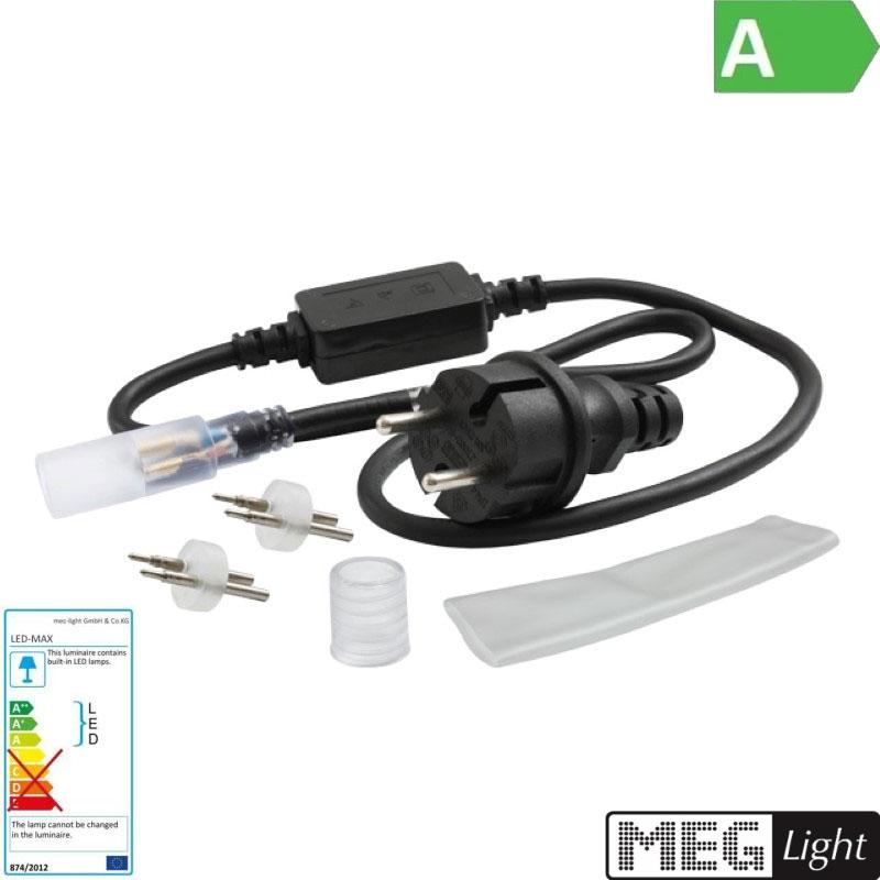 Anschlußset für unsere LED Lichtschläuche
