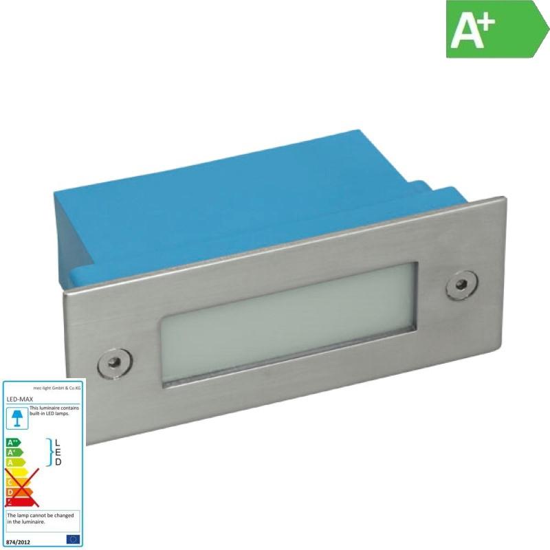 12 LED Einbaustrahler - Einbauleuchte - LED Wandleuchte 230V