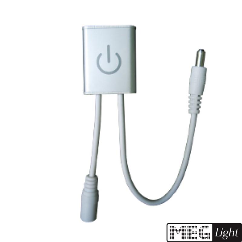 MINI LED iTouch Dimmer 12-24V DC zum stecken mit 2,1mm Stecker/Buchse