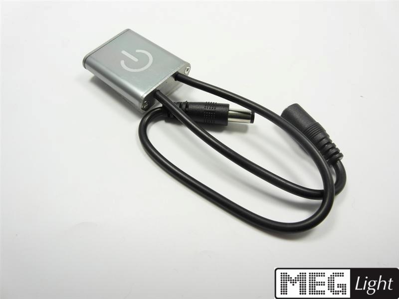 Super kleiner IR Touch-Sensor Switch für 12-24V/DC LEDs mit 2,1mm Stecker/Buchse