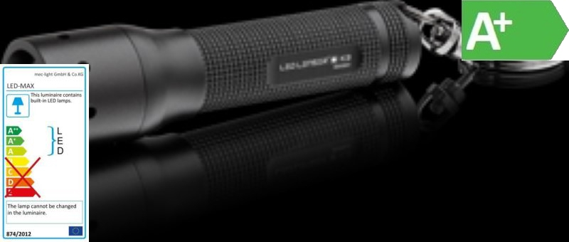 LED Taschenlampe LED LENSER K3 - Spritzwassergeschützt