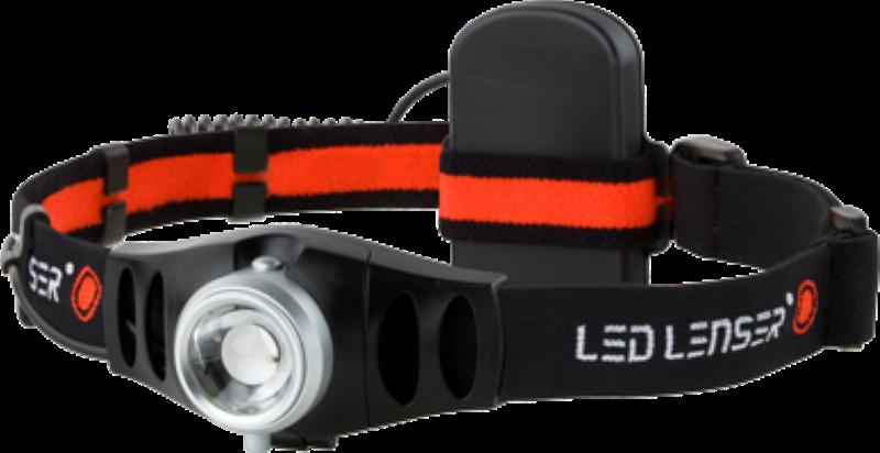 LED Kopftaschenlampe LED LENSER H5 Focus System schwenkbar