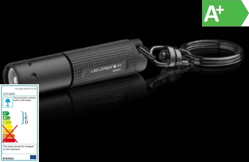LED Taschenlampe LED LENSER K1 High End LED 17lm