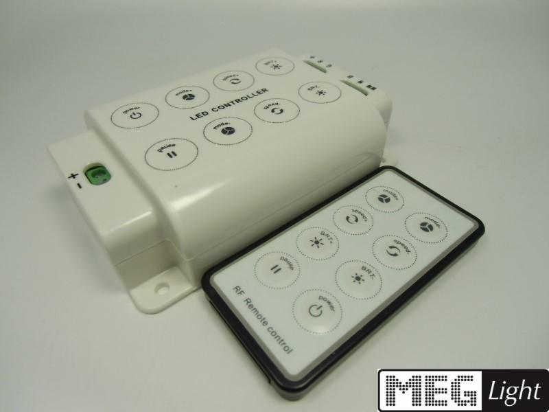 Funk RGB- & LED-Controller + RF-Fernbedienung 5-Kanal RGB+WW+CW 12-24V/DC 5x4A