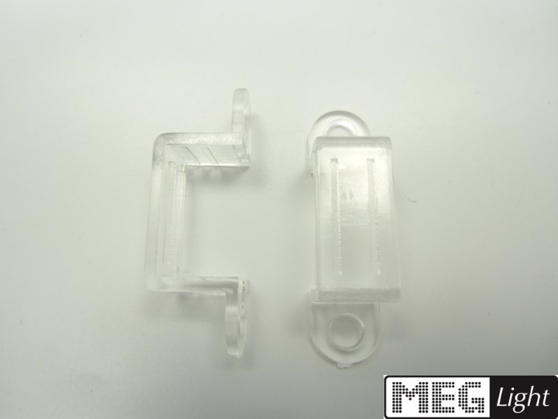 2x Wand-/Deckenhalterung für LED-Leisten (2 Stück)
