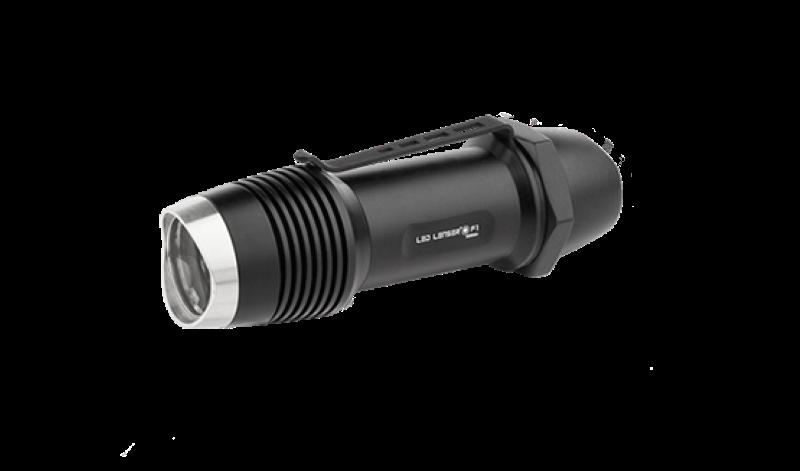 LED Lenser F1 Taschenlampe 400lm 100m